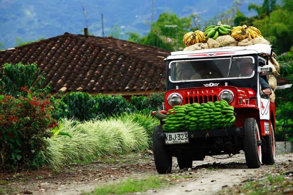 Willy Jeeps Coffee Zone Colombia